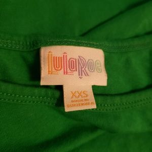 LulaRoe Green Short Sleeve Tunic